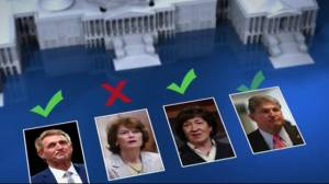 Breaking down the votes for Kavanaugh confirmation