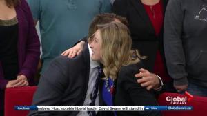 Global Calgary bids farewell to Amber Schinkel