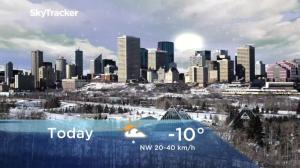 Edmonton early morning weather forecast: Friday, November 16, 2018