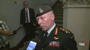 General Jonathan Vance confirms death of Canadian soldier in Bulgaria
