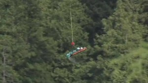 Bodies of 3 people who fell over BC waterfall found