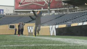 Blue Bombers Flag Football Skills Camp