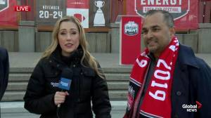 Grey Cup festival kickoff: Chethan Lakshman and Carson Ackroyd