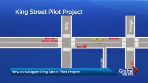 City of Toronto to launch King St. pilot project on Nov. 12