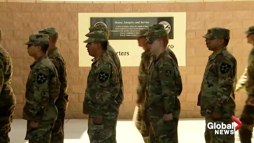 Pentagon preparing for multiple scenarios as troops deployed to US  Mexico border