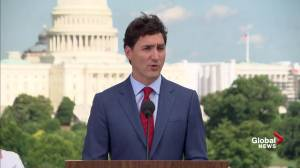 Trudeau pleased to see Mexico approve CUSMA,