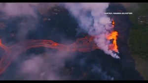 Lava from Hawaii volcanic eruption threatens geothermal power plant