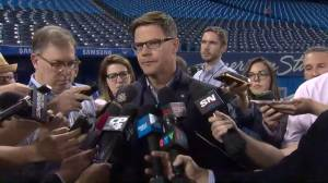 Jays GM Ross Atkins says he was at a loss for words over Roberto Osuna arrest