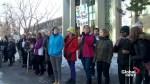 Westmount High students, teachers protest CAQ religious symbols bill