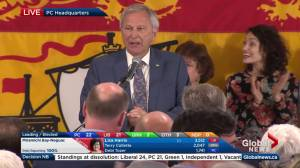 New Brunswick election: Higgs says there's 'opportunity' for doing government differently
