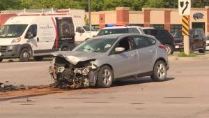 Police arrest man who fled Monday morning collision