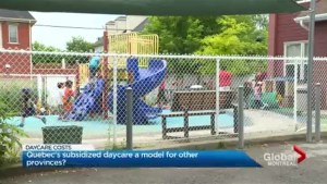 Focus Montreal: Quebec subsidized daycares, a model to emulate?