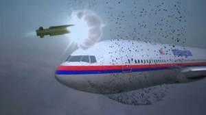How a warhead exploding near flight MH17 took it down