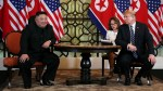 Trump in 'no rush' for deal with Kim on summit day two