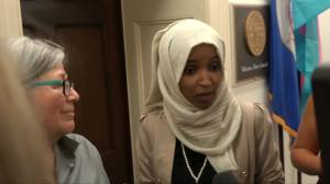 Ilhan Omar says Trump is 'spewing fascist ideology' following rally chants of 'send her back'
