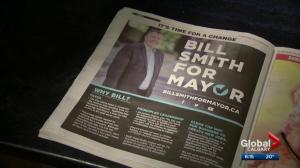 Error-filled campaign ad for mayoral candidate Bill Smith makes the rounds on social media