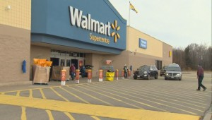 1 dead, 1 arrested after N.B. Walmart shooting prompts police chase