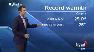 Calgary could break a weather record (00:39)
