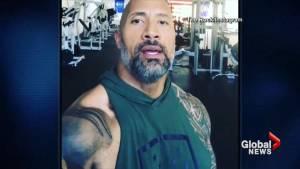 Dwayne 'The Rock' Johnson accepts Kevin Hart's Hurricane Harvey challenge