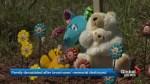 Neville Lake family memorial destroyed