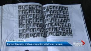 Former teacher of Danforth shooter recalls disturbing conversation