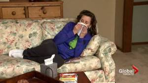 Sharp increase in flu cases during the last half of January signals epidemic (01:46)