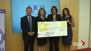 Big donation for pancreatic cancer research