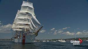 Tall Ships say goodbye to Halifax