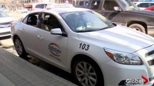 Saskatchewan Taxi Cab Association proposes 'flex-service' taxis (04:07)