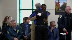 'You're my hero': Waffle House CEO thanks man who stopped shooter