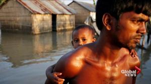 More than 1,200 dead, millions homeless as floods swamp south Asia