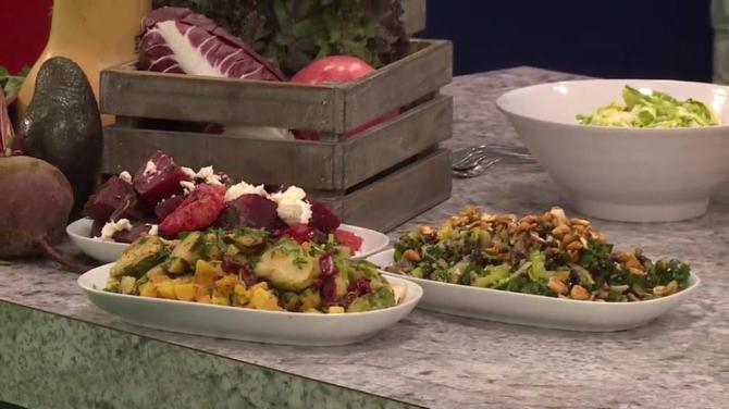 Brussels sprout and apricots recipe from Tractor Foods