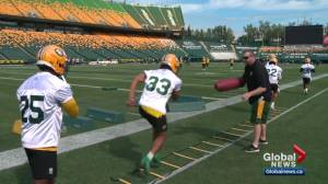 Eskimos working hard in bye week