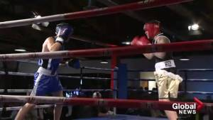 Boxers head into the ring for the United Way