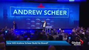 Scheer battles to gain support, name recognition before next year's election