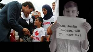 Yazidi boy in Winnipeg once held by ISIS launches campaign for meeting with Trudeau