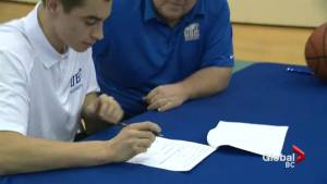 UBC signs local talent to men's basketball team