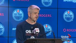 Oilers coach proud his players took time to support World's Longest Hockey Game