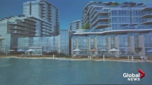Aqua development in Kelowna celebrated for vision, panned for addition to traffic problems on Lakeshore Rd.