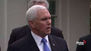 Pence says Trump still looking at national emergency, wants Congress to do job