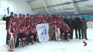 Midget Hurricanes eye national hockey crown