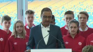 Edmonton officially a 2026 FIFA World Cup bid city
