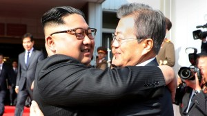 South Korean president meets with Kim Jong Un just days after U.S. pulls out of summit