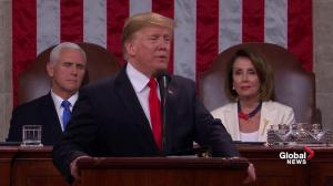 State of the Union: Trump says 'walls work and walls save lives'