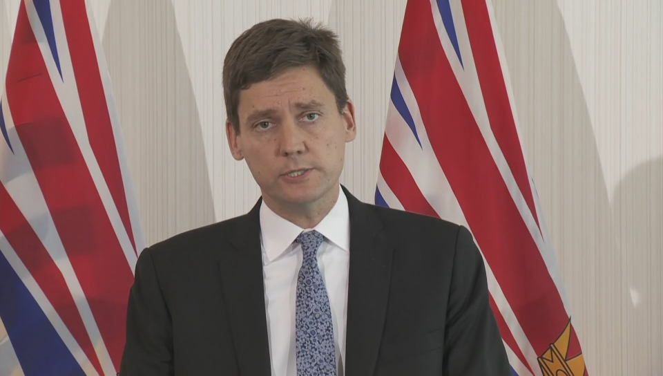 'A dumpster fire': Attorney General David Eby addresses ICBC losses