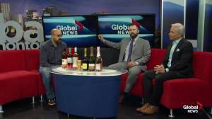 Rose and bubbles with Edmonton Wine Guy Gurvinder Bhatia