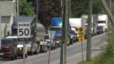 Local residents frustrated about detouring traffic from Hwy  401
