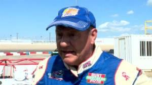 Ride-along with NASCAR legend at Saskatoon racetrack