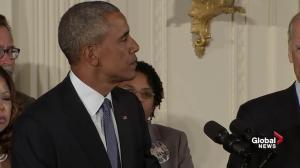 President Obama makes his case for increased gun control laws