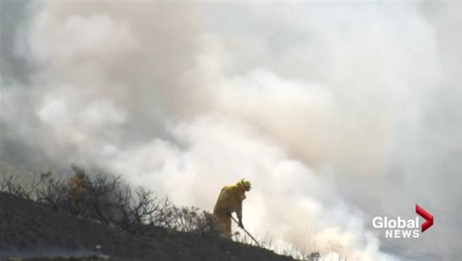 Campfire blamed for large grass fire in Lethbridge ...